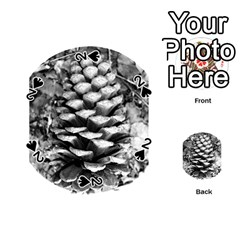 Pinecone Spiral Playing Cards 54 (round)
