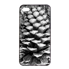 Pinecone Spiral Apple Iphone 4/4s Seamless Case (black)