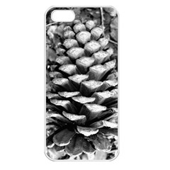 Pinecone Spiral Apple Iphone 5 Seamless Case (white) by timelessartoncanvas