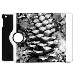 Pinecone Spiral Apple Ipad Mini Flip 360 Case by timelessartoncanvas