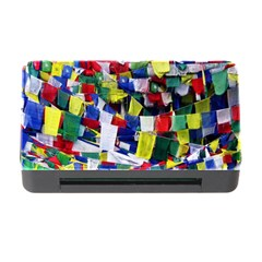 Tibetan Buddhist Prayer Flags Memory Card Reader With Cf by CrypticFragmentsColors