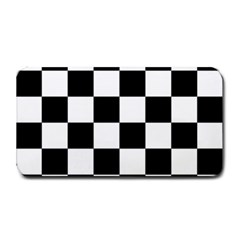 Checkered Flag Race Winner Mosaic Tile Pattern Medium Bar Mats by CrypticFragmentsColors