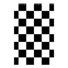 Checkered Flag Race Winner Mosaic Tile Pattern Shower Curtain 48  X 72  (small)  by CrypticFragmentsColors