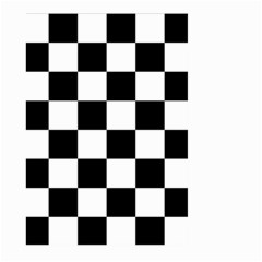 Checkered Flag Race Winner Mosaic Tile Pattern Large Garden Flag (two Sides) by CrypticFragmentsColors
