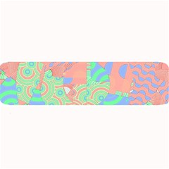 Tropical Summer Fruit Salad Large Bar Mat by CrypticFragmentsColors