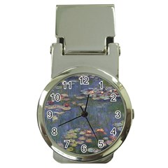 Claude Monet   Water Lilies Money Clip Watches