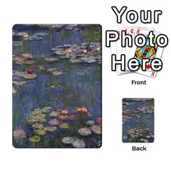 Claude Monet   Water Lilies Multi Purpose Cards (rectangle)  by ArtMuseum