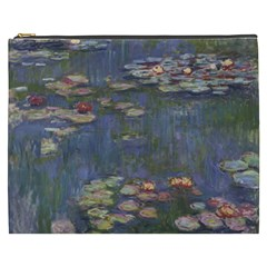 Claude Monet   Water Lilies Cosmetic Bag (xxxl)  by ArtMuseum