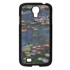 Claude Monet   Water Lilies Samsung Galaxy S4 I9500/ I9505 Case (black) by ArtMuseum