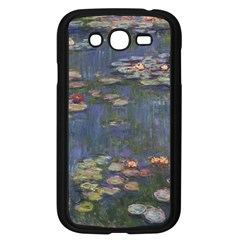 Claude Monet   Water Lilies Samsung Galaxy Grand Duos I9082 Case (black)