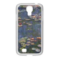 Claude Monet   Water Lilies Samsung Galaxy S4 I9500/ I9505 Case (white) by ArtMuseum