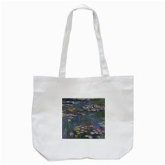 Claude Monet   Water Lilies Tote Bag (white)  by ArtMuseum