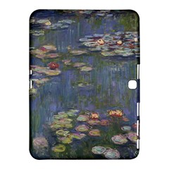 Claude Monet   Water Lilies Samsung Galaxy Tab 4 (10 1 ) Hardshell Case  by ArtMuseum