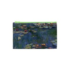 Claude Monet   Water Lilies Cosmetic Bag (xs) by ArtMuseum