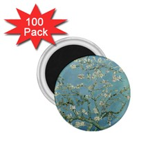 Almond Blossom Tree 1 75  Magnets (100 Pack)  by ArtMuseum
