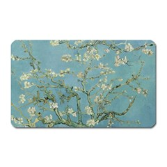 Almond Blossom Tree Magnet (rectangular) by ArtMuseum