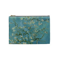 Almond Blossom Tree Cosmetic Bag (medium)  by ArtMuseum