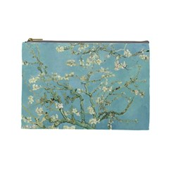 Almond Blossom Tree Cosmetic Bag (large)  by ArtMuseum