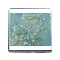 Almond Blossom Tree Memory Card Reader (square) by ArtMuseum