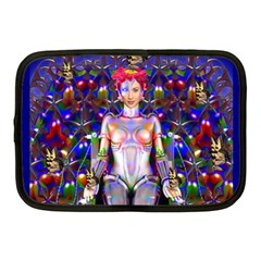 Robot Butterfly Netbook Case (medium)  by icarusismartdesigns