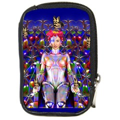 Robot Butterfly Compact Camera Cases by icarusismartdesigns
