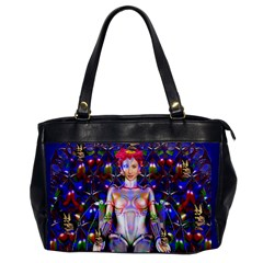 Robot Butterfly Office Handbags by icarusismartdesigns