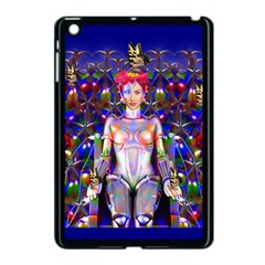 Robot Butterfly Apple Ipad Mini Case (black) by icarusismartdesigns
