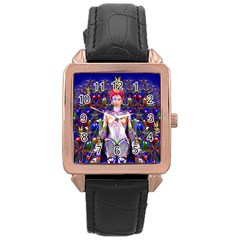 Robot Butterfly Rose Gold Watches by icarusismartdesigns