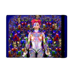 Robot Butterfly Ipad Mini 2 Flip Cases by icarusismartdesigns