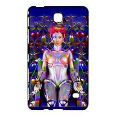 Robot Butterfly Samsung Galaxy Tab 4 (7 ) Hardshell Case  by icarusismartdesigns
