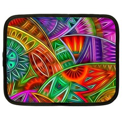 Happy Tribe Netbook Case (large)	 by KirstenStar