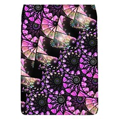 Hippy Fractal Spiral Stacks Flap Covers (l)  by KirstenStar