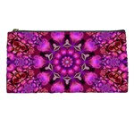 Pink Fractal Kaleidoscope  Pencil Cases Front