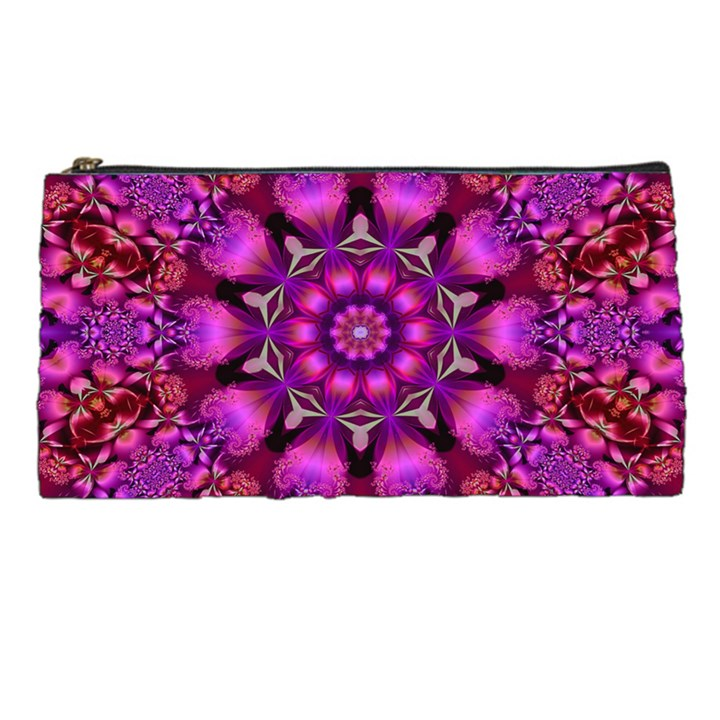 Pink Fractal Kaleidoscope  Pencil Cases