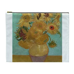 Vincent Willem Van Gogh, Dutch   Sunflowers   Google Art Project Cosmetic Bag (xl) by ArtMuseum