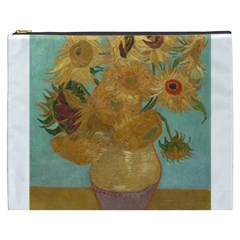 Vincent Willem Van Gogh, Dutch   Sunflowers   Google Art Project Cosmetic Bag (xxxl)  by ArtMuseum