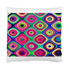 Psychedelic Checker Board Standard Cushion Cases (two Sides)  by KirstenStar