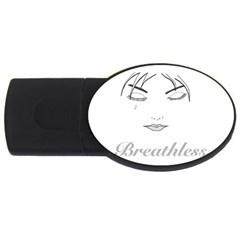Breathless Usb Flash Drive Oval (2 Gb)  by morbidcandy