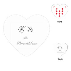 Breathless Playing Cards (heart)  by morbidcandy