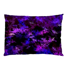 Purple Skulls Goth Storm Pillow Cases (two Sides) by KirstenStar