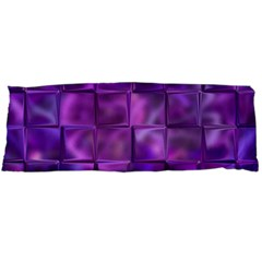 Purple Square Tiles Design Body Pillow Cases Dakimakura (two Sides)  by KirstenStar