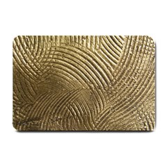 Brushed Gold 050549 Small Doormat  by AlteredStates