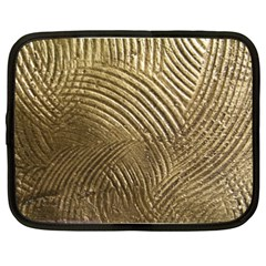 Brushed Gold 050549 Netbook Case (xxl)  by AlteredStates