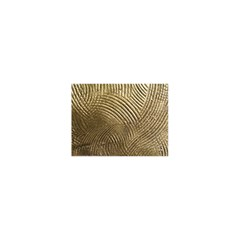 Brushed Gold 050549 Shower Curtain 48  X 72  (small)  by AlteredStates