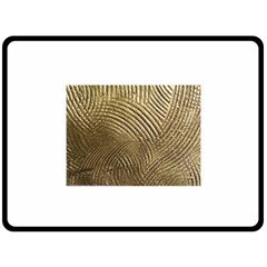 Brushed Gold 050549 Double Sided Fleece Blanket (large)