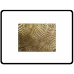 Brushed Gold 050549 Double Sided Fleece Blanket (Large)  80 x60 Blanket Front