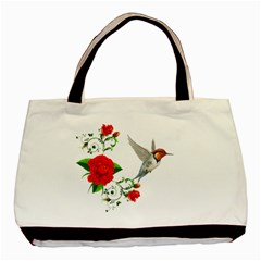 Red Roses Decor Clipart Basic Tote Bag  by AlteredStates