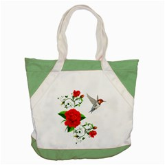 Red Roses Decor Clipart Accent Tote Bag  by AlteredStates