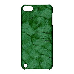 Woven Skin Green Apple Ipod Touch 5 Hardshell Case With Stand by InsanityExpressed