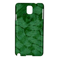Woven Skin Green Samsung Galaxy Note 3 N9005 Hardshell Case